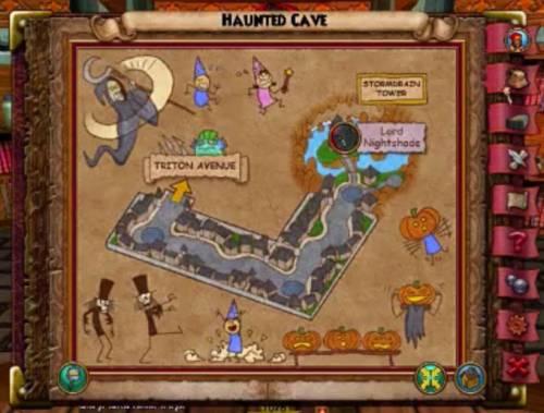 Brain Jar Haunted Cave