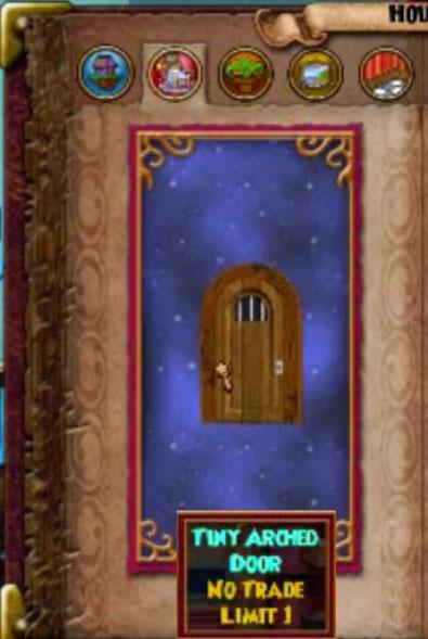 Tiny Arched Door